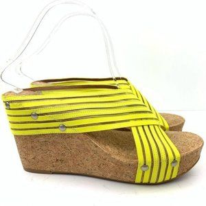 New Lucky Brand Platforms size 8 38 Miller2 Wedges